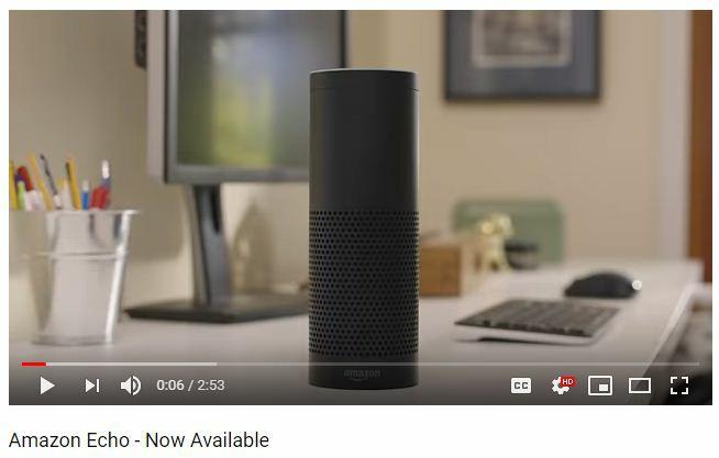 Amazon Echo Youtube Ad