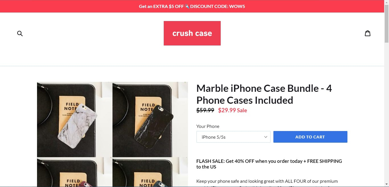 crush case homepage