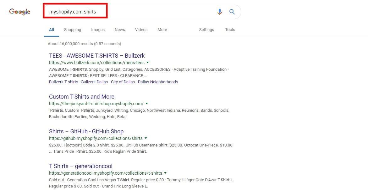 myshopify.com search