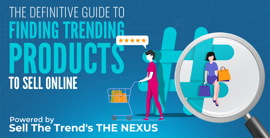 Finding trending products to sell online cover
