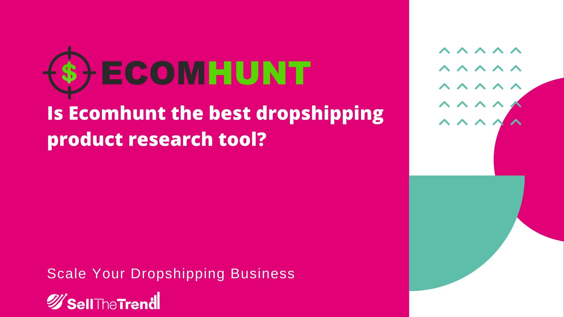 Is Ecomhunt the best dropshipping product research tool?