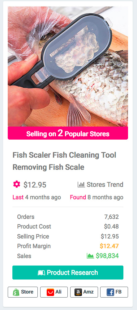 Multifunctional Fish Cleaning Tool