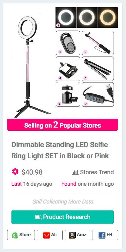 Phone Selfie Ring Light