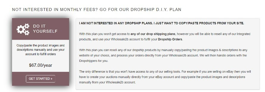 Wholesale 2B  - plans and pricing(5)
