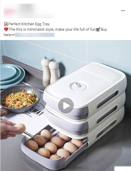 Winning Product Facebook Ad
